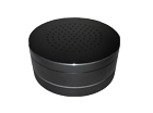 8W Vibrating Speaker Black